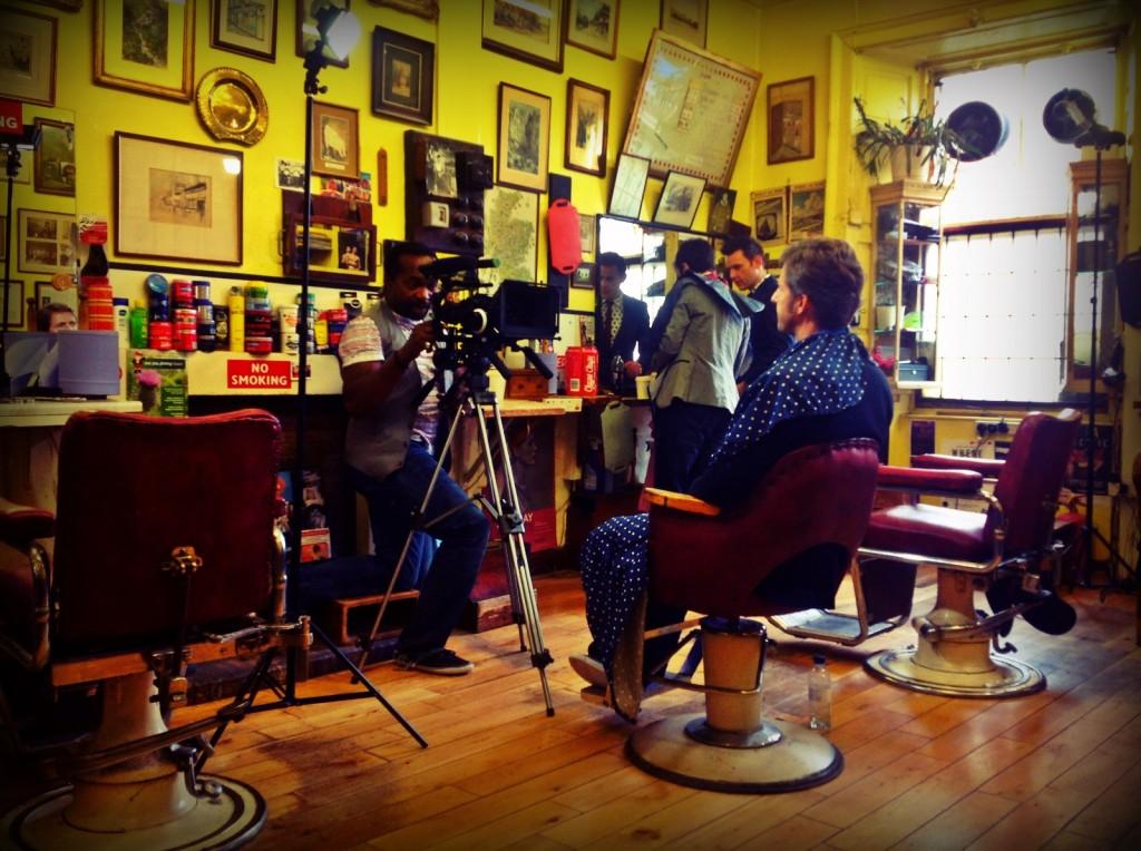 Fraser filming