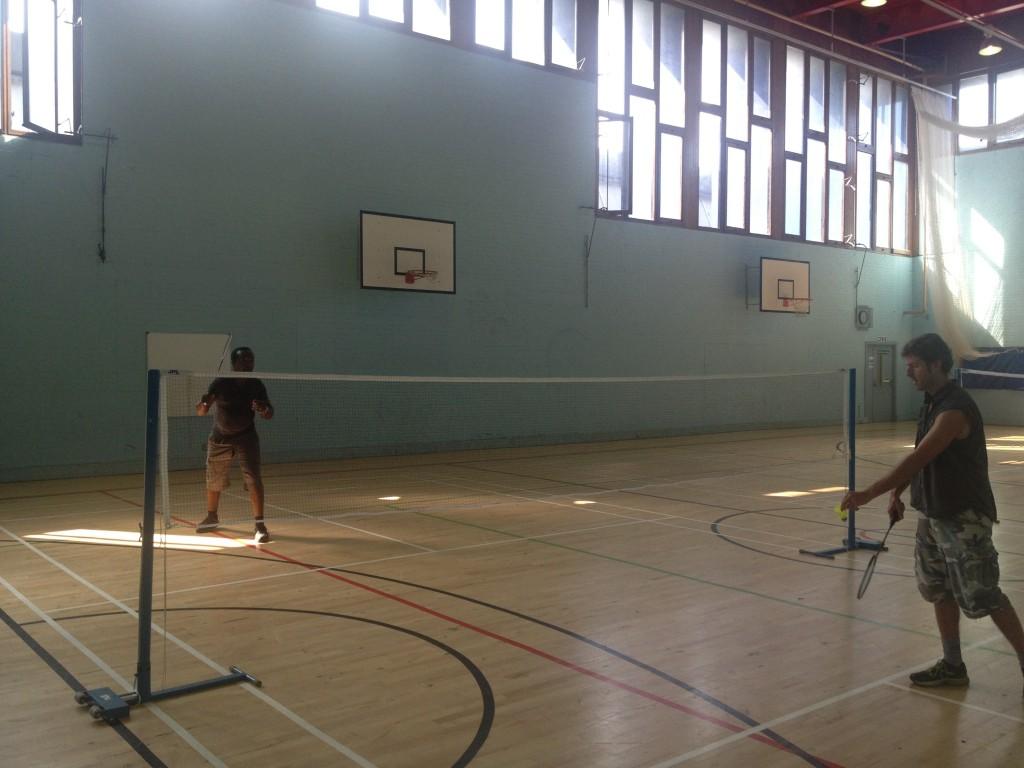 Badminton Tournament begins